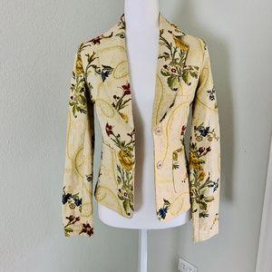 Arden B. Floral Blazer Jacket